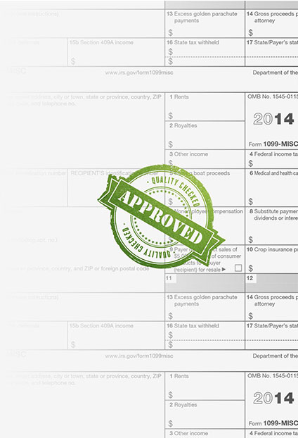 tax document approved