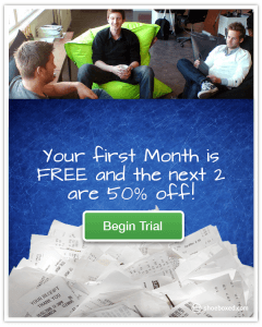 Your fist month is Free and the Next 2 Months are 50% off Email Begin Trail Free Trail Coupon Ad