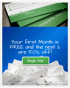 First Month Free and the Next 2 are 50% off