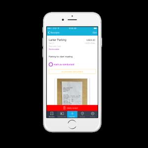 Iphone Demo App Shoeboxed Receipts Scanner Screenshot Paperless