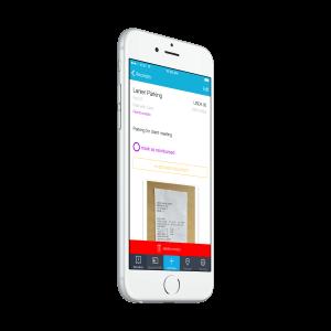 Iphone Demo App Shoeboxed Receipts Scanner Screenshot