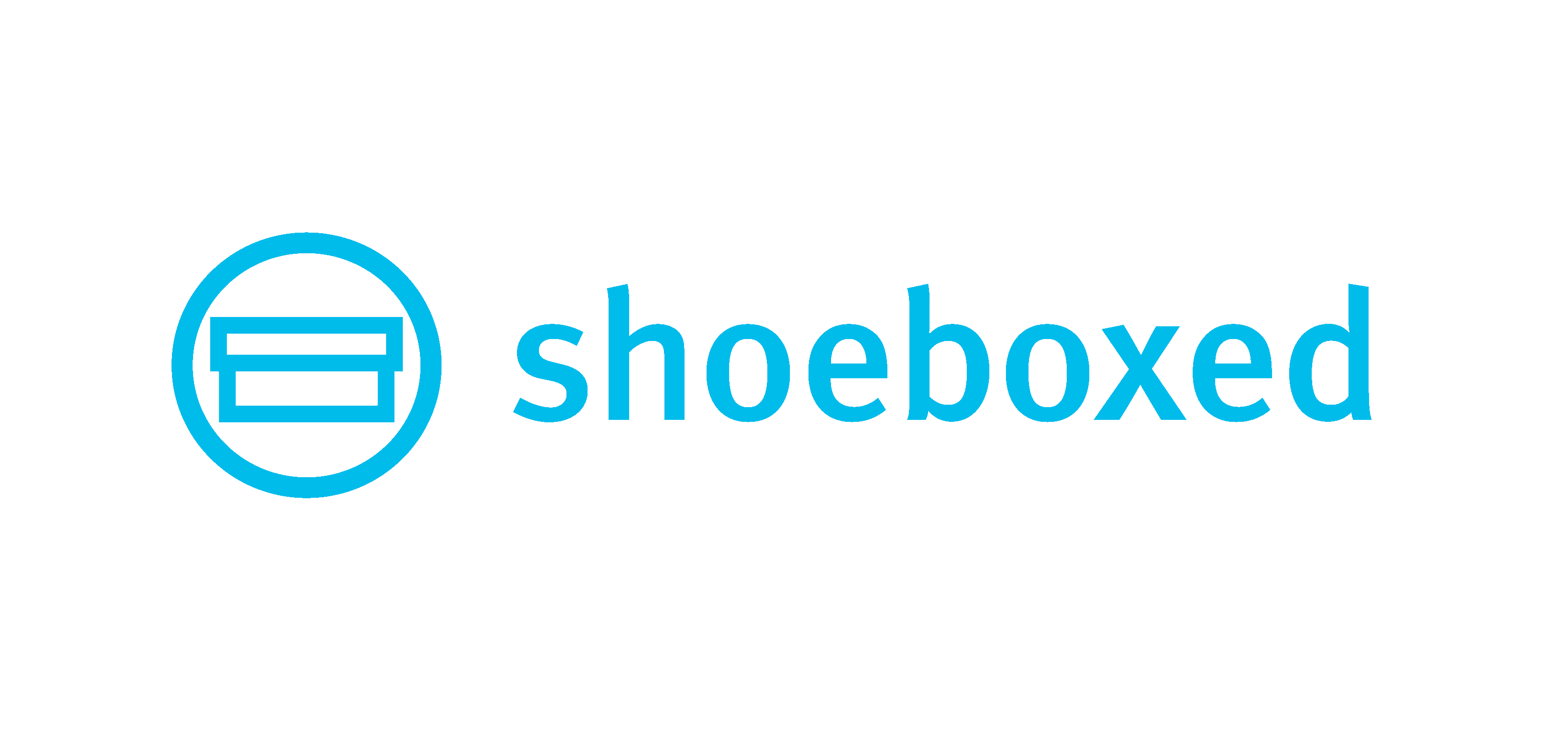 Shoeboxed Logo Blue