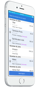 Iphone Demo App Shoeboxed Receipts Scanner Screenshot