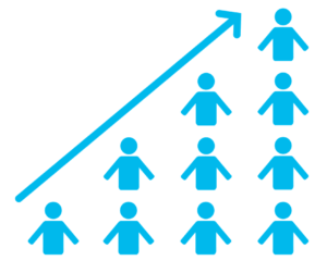 Shoeboxed Graph Increase