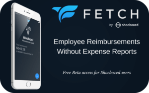 Free Beta Access for Shoeboxed Users Shoeboxed Employee Reimbursements Without Expense Reports