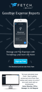 Fetch Goodbye Expense Reports Mobile on Your Phone Free Sign Up Shoeboxed Team