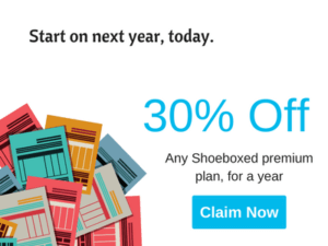 Sale 30% off shoeboxed Premium Plan Year Subscription
